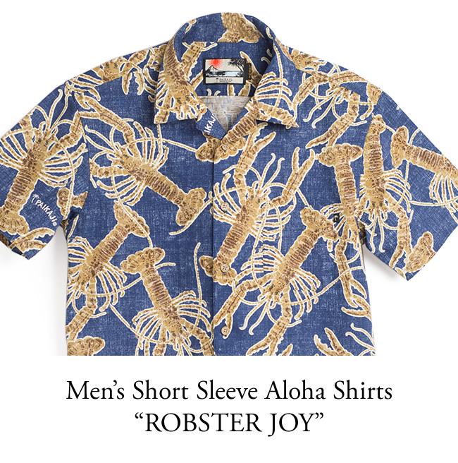 メンズアロハシャツ半袖(レギュラー)/ROBSTER JOY