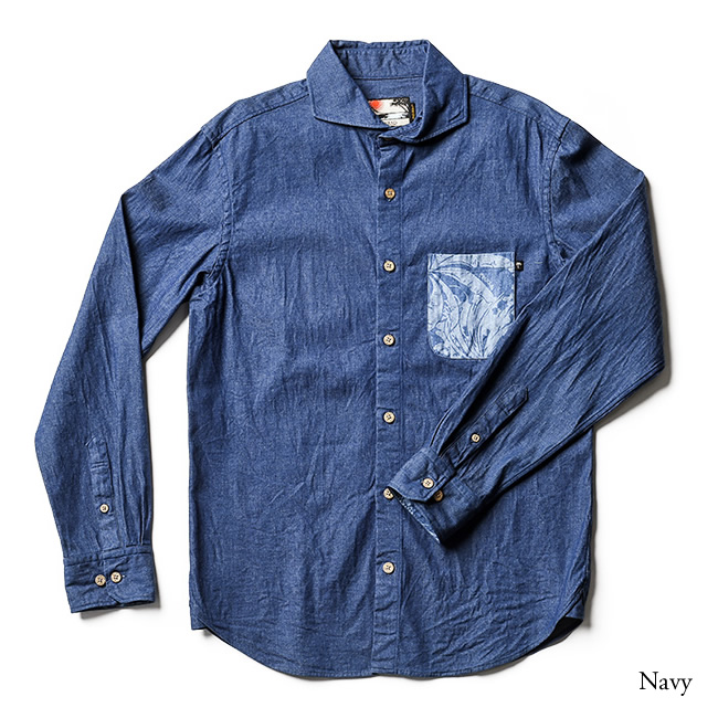 メンズ半袖アロハシャツ(オープンカラー)X'mas