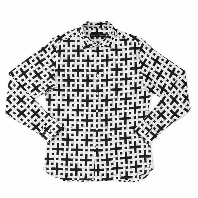 メンズ長袖アロハシャツ/レギュラーカラー/唐長×PAIKAJI