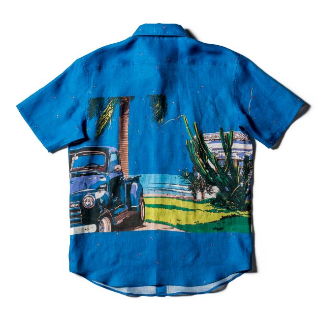 PAIKAJIアロハシャツ
